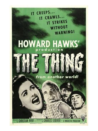 The Thing From Another World, From Left: Margaret Sheridan, Kenneth Tobey, 1951