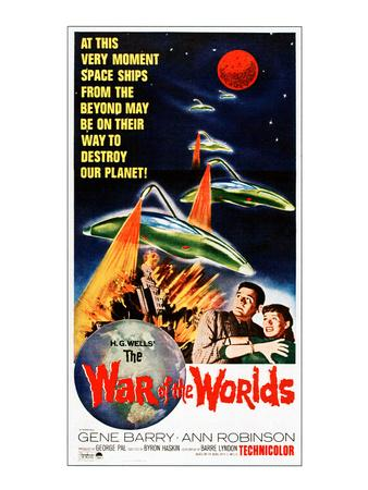 War of the Worlds, Bottom From Left: Gene Barry, Ann Robinson, 1953