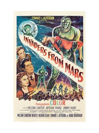 Invaders From Mars, Jimmy Hunt, Arthur Franz, Helena Carter, 1953