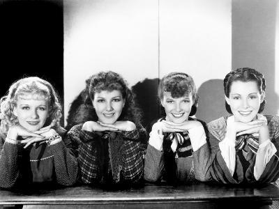 Little Women, Joan Bennett, Jean Parker, Katharine Hepburn, Frances Dee, 1933