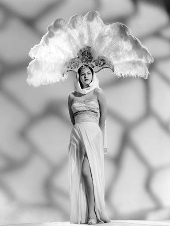 White Savage, Maria Montez, in a 'Sheerong' (Sheer Sarong) Designed by Vera West, 1943