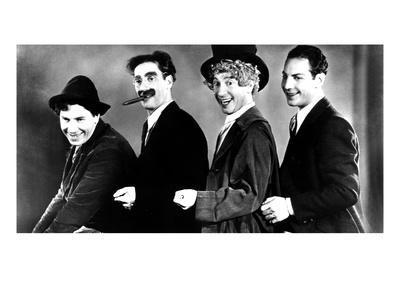 Animal Crackers, Chico Marx, Groucho Marx, Harpo Marx, Zeppo Marx, 1930, Portrait