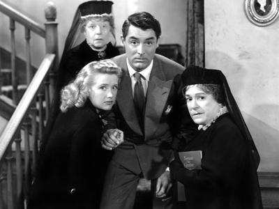 Arsenic and Old Lace, Priscilla Lane, Jean Adair, Cary Grant, Josephine Hull, 1944