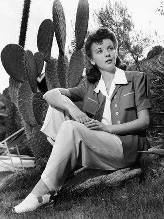 Ida Lupino, Portrait Used in Photoplay May 1941