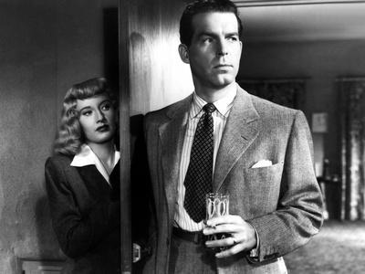 Double Indemnity, Barbara Stanwyck, Fred MacMurray, 1944