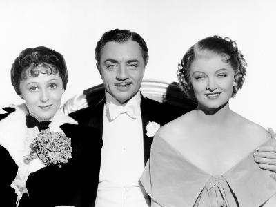 The Great Ziegfeld, Luise Rainer, William Powell, Myrna Loy, 1936