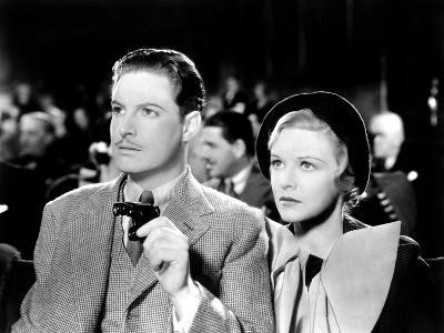 The 39 Steps, Robert Donat, Madeleine Carroll, 1935
