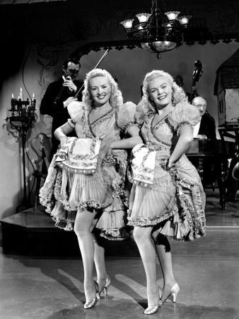 The Dolly Sisters, Betty Grable, June Haver, 1945