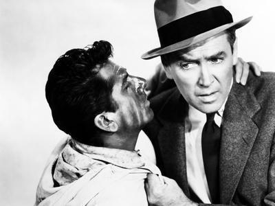 The Man Who Knew Too Much, Daniel Gelin, James Stewart, 1956