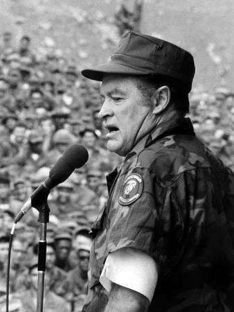 Bob Hope, Entertaining the Troops in Vietnam, ca. Late 1960s