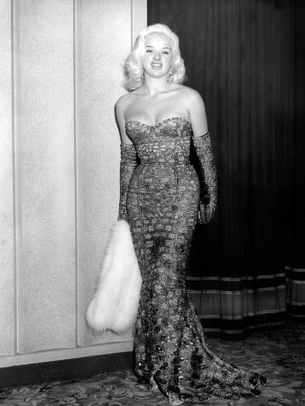 An Alligator Named Daisy, Diana Dors, Attending Movie Premiere at the Odeon, Marble Arch, 1955