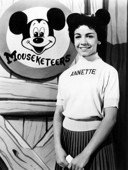 The Mickey Mouse Club Annette Funicello 1955 59 Photo At