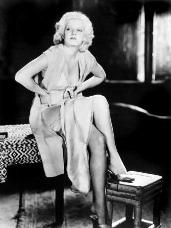 Red Dust, Jean Harlow, 1932