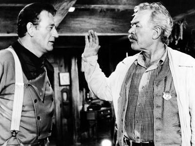 The Searchers, John Wayne, Ward Bond, 1956