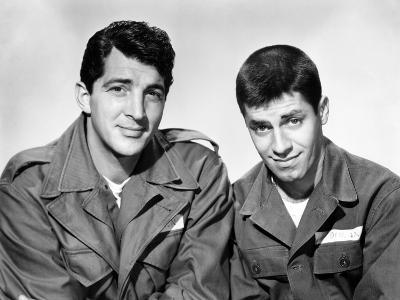 Jumping Jacks, L-R: Dean Martin, Jerry Lewis, 1952.
