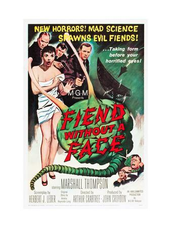 Fiend Without A Face, Kim Parker, Marshall Thompson, 1958