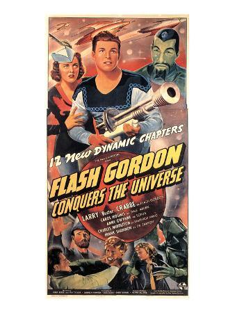Flash Gordon Conquers the Universe, Carol Hughes, Larry 'Buster' Crabbe, Charles Middleton, 1940