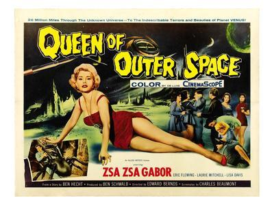 Queen of Outer Space, Zsa Zsa Gabor, 1958