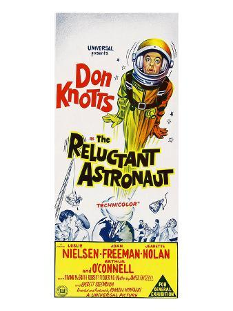 The Reluctant Astronaut, Upper Right: Don Knotts On An 'Australian Daybill', 1967