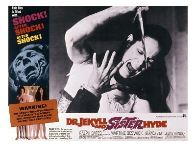 Dr. Jekyll And Sister Hyde, Martine Beswick, 1971
