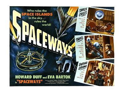Spaceways, Howard Duff, Eva Bartok, 1953