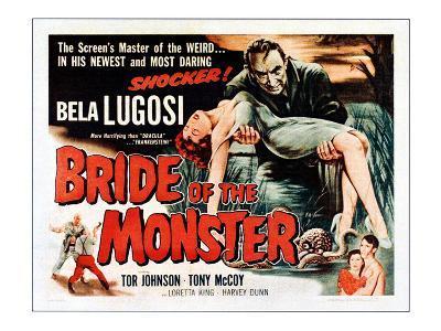 Bride of the Monster, Top: Bela Lugosi, Bottom Left: Tor Johnson, 1955
