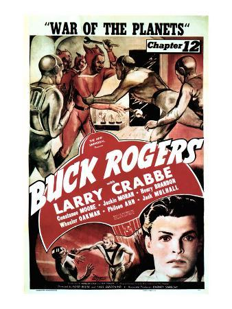 Buck Rogers, Larry Crabbe In 'Chapter 12: War of the Planets', 1940