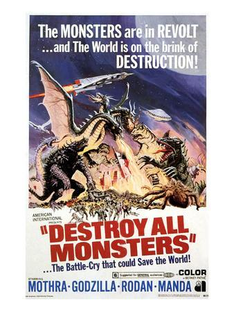 Destroy All Monsters, 1968