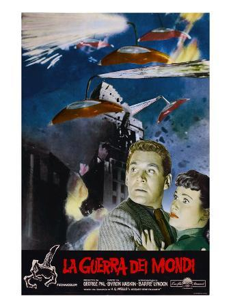 War of the Worlds, Left to Right: Gene Barry, Ann Robinson, 1953