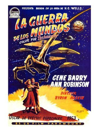 War of the Worlds, Bottom, Left to Right: Ann Robinson, Gene Barry, 1953