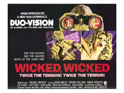Wicked, Wicked, Top And First From Left: Randolph Roberts; Second From Left: Tiffany Bolling, 1973