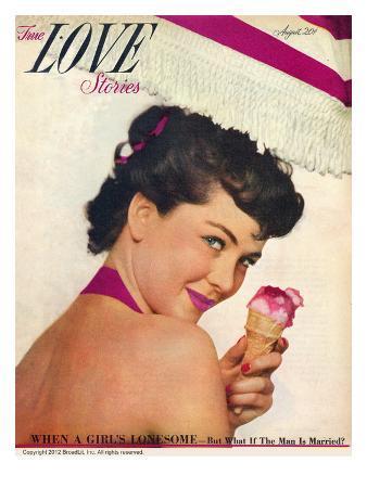True Love Stories Vintage Magazine - August 1949