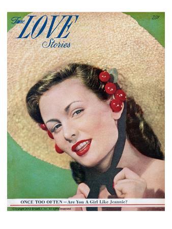 True Love Stories Vintage Magazine - May 1949 - Cover - Kodachrome