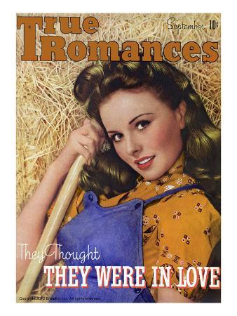 True Romances Vintage Magazine - September 1944