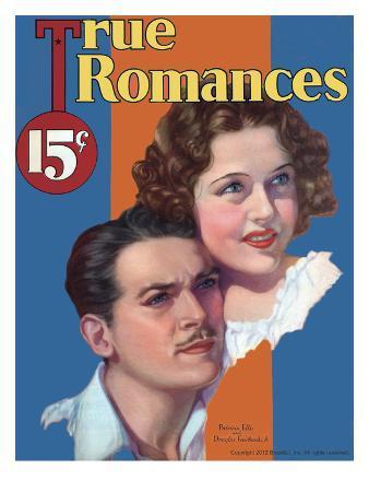True Romances Vintage Magazine - September 1933 - Douglas Fairbanks Jr And Patricia Ellis