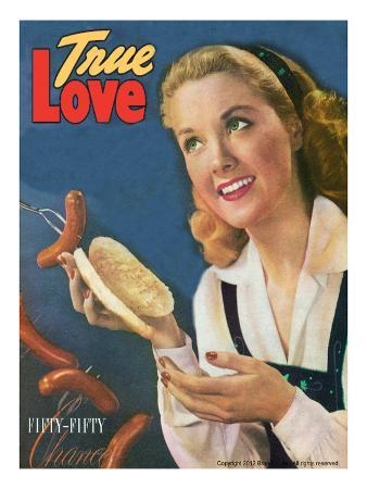 True Love Vintage Magazine - September 1947