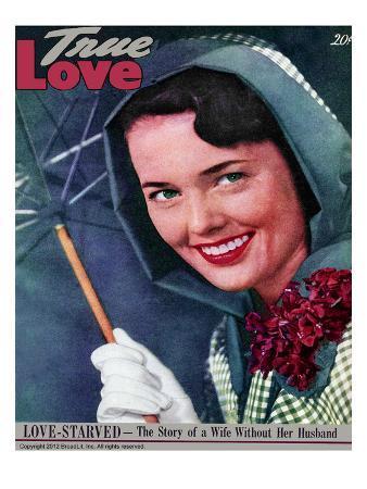 True Love Stories Vintage Magazine - April 1949 - Kodachrome