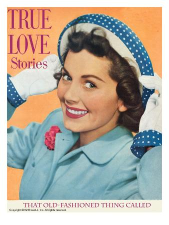 True Love Stories Vintage Magazine - April 1950 - Ektachrome