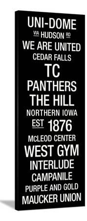 Northern Iowa: College Town Wall Art