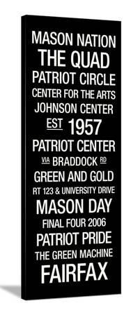 George Mason: College Town Wall Art