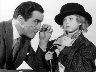 Curly Top, John Boles, Shirley Temple, 1935, Dressing Up In Father's Clothes