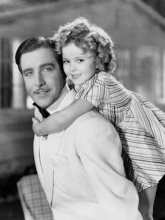 Curly Top, John Boles, Shirley Temple, 1935