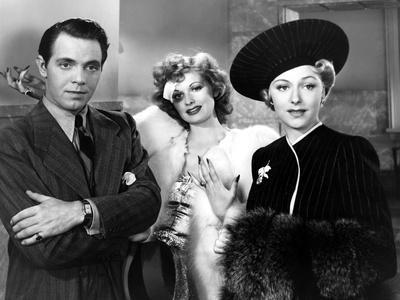 Dance, Girl, Dance, Louis Hayward, Lucille Ball, Mary Carlisle, 1940