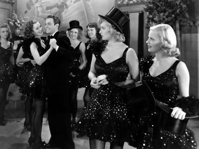Dance, Girl, Dance, Maureen O'Hara, Louis Hayward, Lucille Ball, Virginia Field, 1940