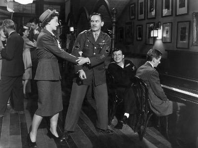 The Best Years Of Our Lives, Myrna Loy, Fredric March, Harold Russell, Hoagy Carmichael, 1946