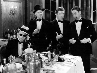 Blessed Event, Lee Tracy, Tom Dugan, Frank McHugh, Ned Sparks, 1932