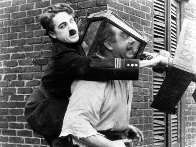 Easy Street, Charles Chaplin, Eric Campbell, 1917