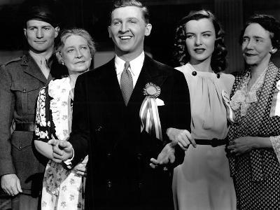 Hail The Conquering Hero, Georgia Caine, Eddie Bracken, Ella Raines, Elizabeth Patterson, 1944