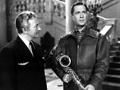 Here Comes Mr. Jordan, Claude Rains, Robert Montgomery, 1941