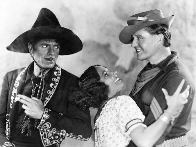 In Old Arizona, Warner Baxter, Dorothy Burgess, Edmund Lowe, 1928